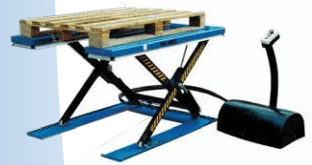 """E"" Low Profile Scissor Lift Table"