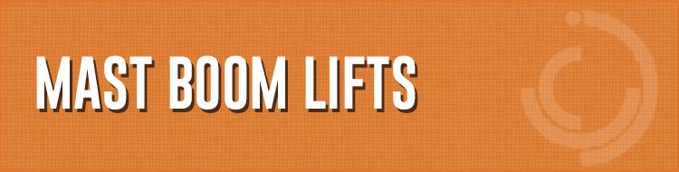 Mast Boom Lifts