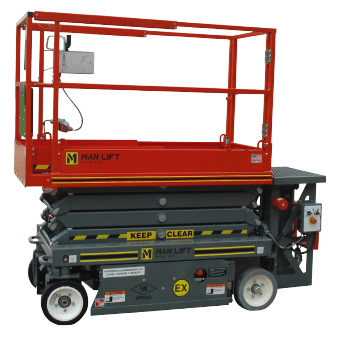 1932EX Explosion Proof Scissor Lift