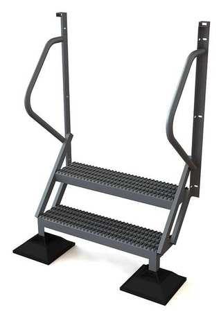 2 Step 50 Degree Incline Fixed Ladder – URTL502
