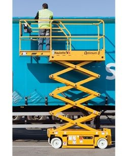 Optimum 1530 E Scissor Lift