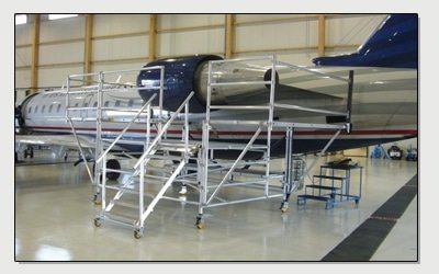 CRJ 200 Maintenance Stand