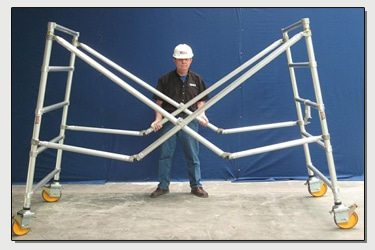 Easy Up Scaffold Base