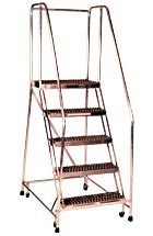 Aluminum Rolling Ladder Series A