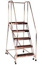 Aluminum Rolling Ladder Series A