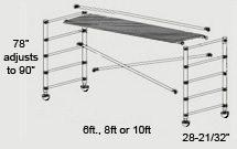 Single Wide Scaffold Base Set