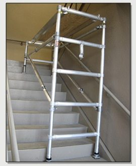 Easy Up Stairwell Scaffold