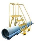 Straddle Base TILTNROLL Ladder