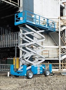 GS 4390 RT Genie Rough Terrain Scissor Lifts