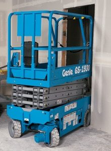 GS 1930 Genie Slab Scissor Lift