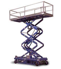 air powered work platform