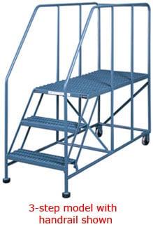 Mobile Work Platform Ladder Industrial Manlifts