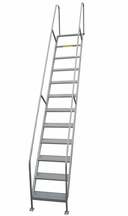custom access stairway ladder