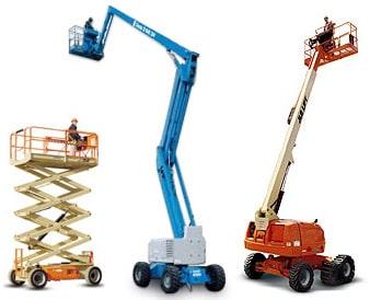 aerial man lifts