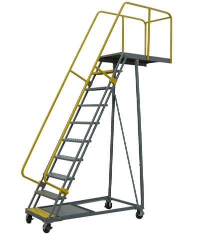Custom Cantilever Rolling Ladder