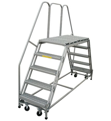 Double Entry Platform Ladder Industrial Man Lifts