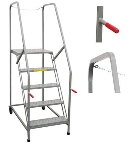 mobile maintenance platform ladder