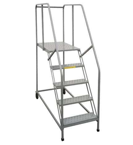 Mobile Work Platform Ladder Industrial Manlifts