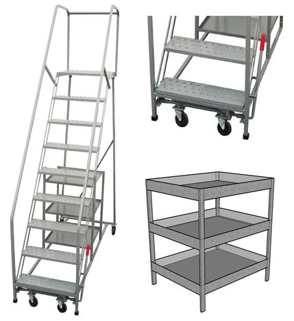 rolling stock picking ladder