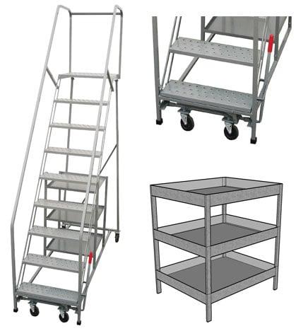rolling stock picking ladder