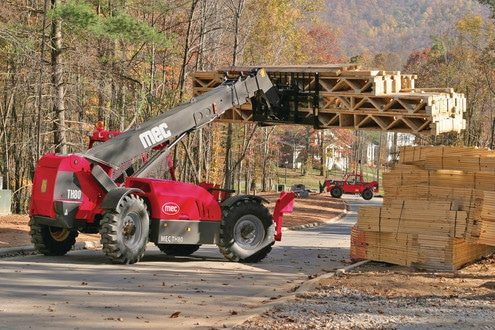 th80 telescopic telehandler 41′ 6″