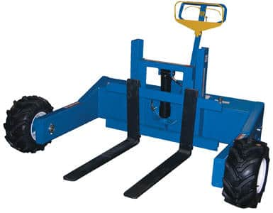All Terrain Gas Powered Traction Drive Pallet Truck