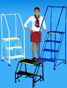 Colorful Office Ladders