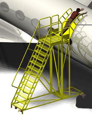 Gulfstream Fuselage Ladder