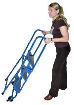 Lock-N-Stock Folding Safety Ladder