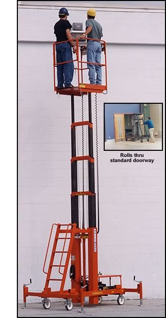 MRO Telescoping Man Lift