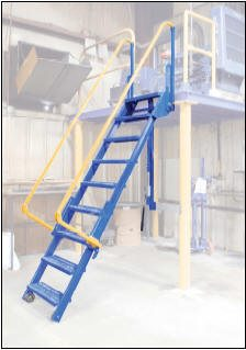 Folding Access Platform Ladders Ibndustrial Man Lifts