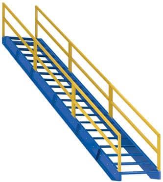 Modular Style Stairway 21 step