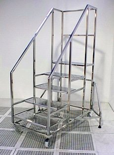 cleanroom 5 step ladder