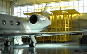 G450 Gulfstream Tail Dock System