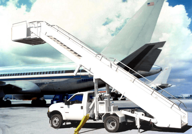 AIRBUS A319 Aircraft Boarding Staircase