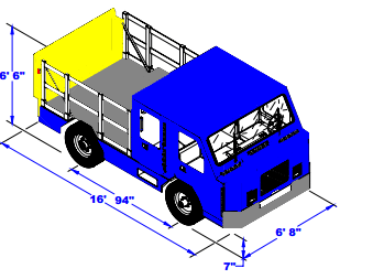APV HIGH SPEED TOW VEHICLE Specs