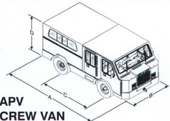 """""""The apv crew van specifications"""""""