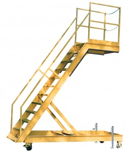 Aircraft Wing Access Stand