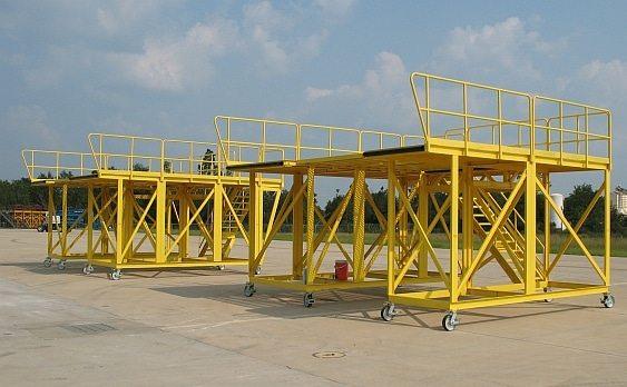C-130 Aircraft Maintenance Exterior Access Stands 1