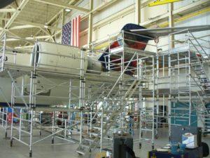 CRJ700 Engine Maintenance Stand