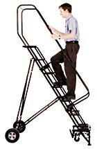 Folding Rolling Ladder