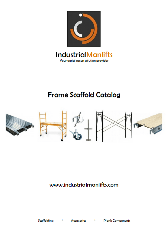 Industrial Manlift Scaffold Catalog