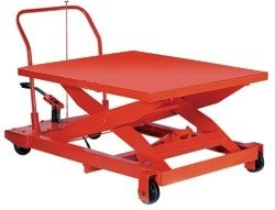 portable manual scissor lift table