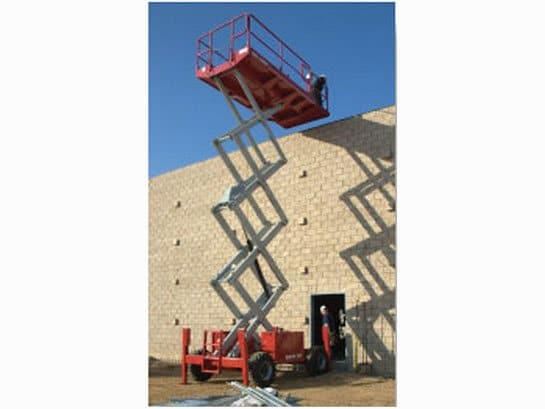 4191RT Rough Terrain Electric Scissor Lift