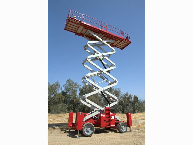 5492RT Ultra Deck Scissor Lift