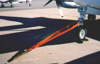 Beech Hawker Raytheyon Fixed Wing Towbar TR-34A