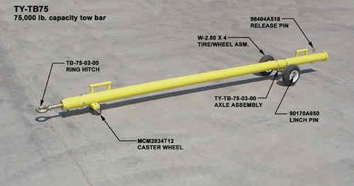 BeechHawker Beechjet Fixed Wing Towbar TY-TB75