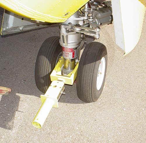 Bombardier Canadair215 Fixed Wing Towbar TY-CA415