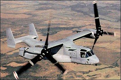 Bell Boeing V-22 Osprey Helicopter Maintenance Platform