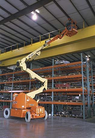 E400A Electric Articulating Boom Lift